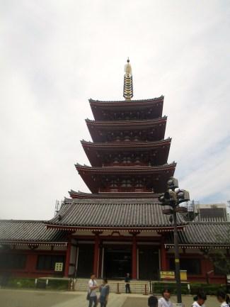 Pagoda, Sensoji