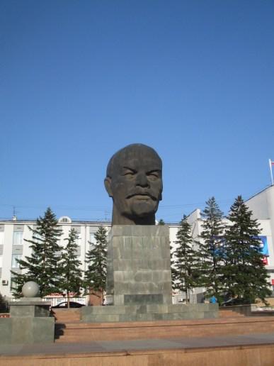 World's largest Lenin head, Ulan-Ude