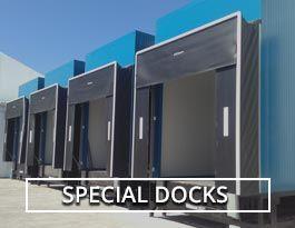 Loading dock levellers