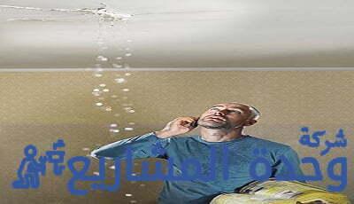 حل مشكلة تسربات السقف