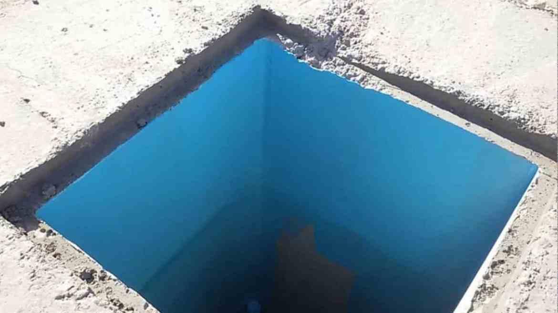كشف تسربات خزانات المياه من الداخل إلى الخارج