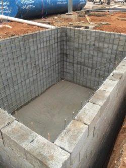 العزل المائي الخارجي قبي الحديد و للخزانات واختبار خزانات المياه وكيفية اختبار عزل الخزان 0555717947
