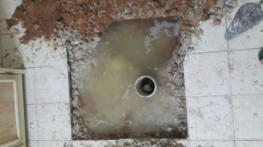 كشف تسربات المياه من السقف والسطح