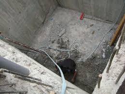 معالجة تسرب مياه الخزان