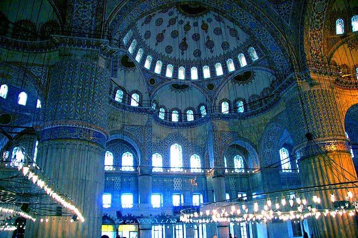 المسجد الازرق المسافرون العرب تركيا