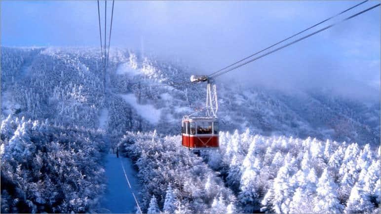 جبل اولداغ في بورصة - السياحة الشتوية في تركيا (2)