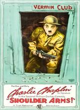Affiche de Charlot Soldat (1918)