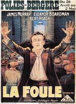 Affiche de La Foule (1928)