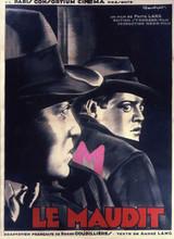 Affiche de M le maudit (1931)
