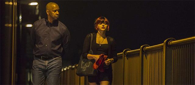 Denzel Washington et Chloë Grace Moretz dans Equalizer (2014)