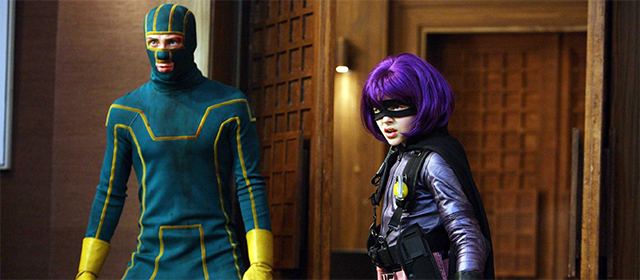 Aaron Taylor-Johnson et Chloe Grace Moretz dans Kick-Ass (2010)