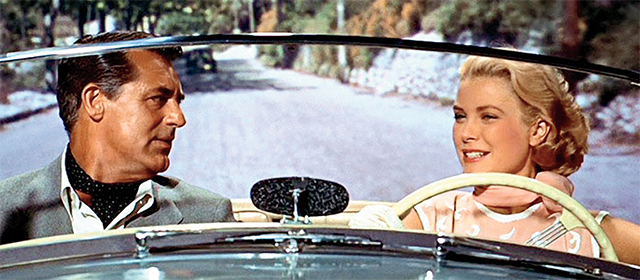 Cary Grant et Grace Kelly dans La Main au Collet (1955)