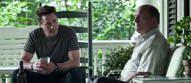 Robert Downey Jr et Robert Duvall dans Le Juge (2014)
