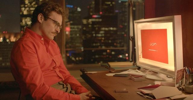 Joaquin Phoenix dans Her
