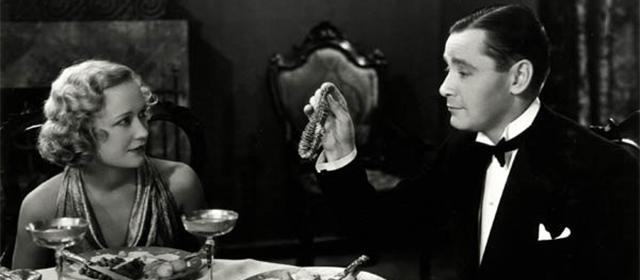 Miriam Hopkins et Herbert Marshall dans Haute Pègre (1933)