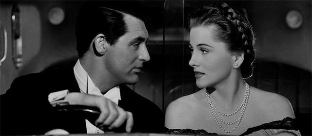 Cary Grant et Joan Fontaine dans Soupçons (1941)
