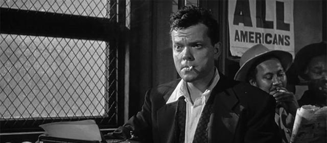 Orson Welles dans La Dame de Shanghai (1947)