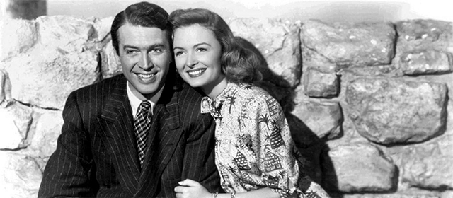James Stewart et Donna Reed