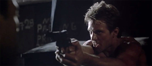 Michael Biehn dans Terminator (1984)