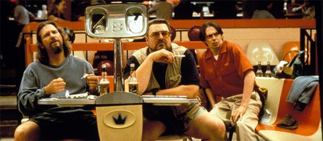 Jeff Bridges, John Goodman et Steve Buscemi dans The Big Lebowski (1998)