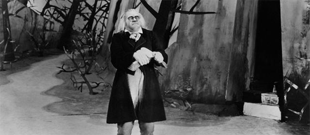 Werner Krauß dans Le Cabinet du Docteur Caligari (1920)
