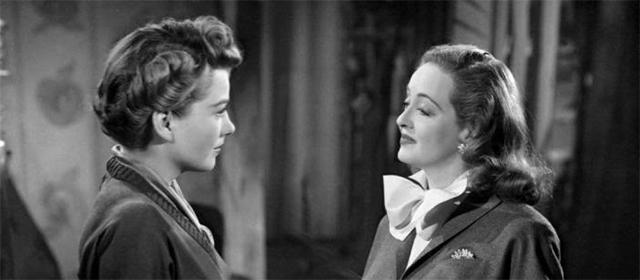 Anne Baxter et Bette Davis dans Eve (1951)