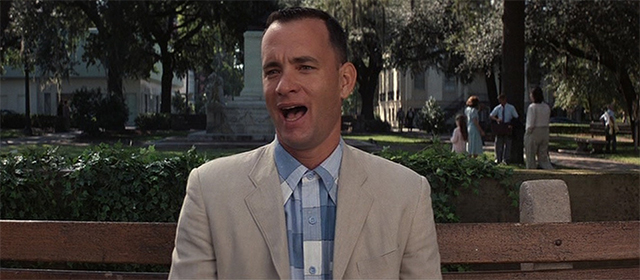 Tom Hanks dans Forrest Gump (1994)