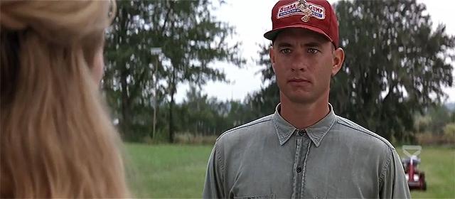 Tom Hanks dans Forrest Gump (1994)