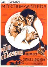 Affiche de La Nuit du chasseur (1955)