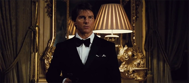 Tom Cruise dans Mission : Impossible - Rogue Nation (2015)