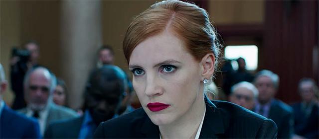 Jessica Chastain dans Miss Sloane (2017)