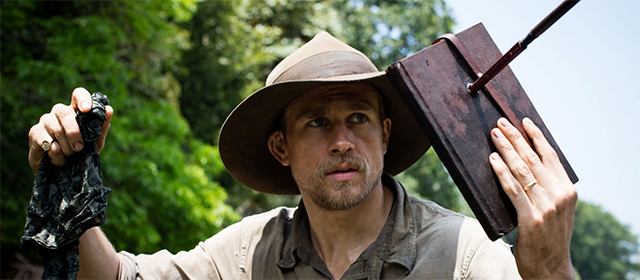 Charlie Hunnam dans The Lost City of Z (2017)