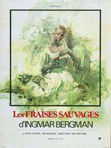 Affiche des Fraises Sauvages (1957)