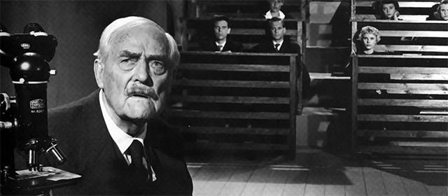 Victor Sjöström dans Les Fraises Sauvages (1957)