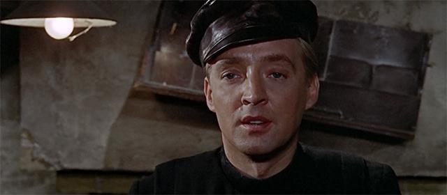 Oskar Werner dans Fahrenheit 451 (1966)