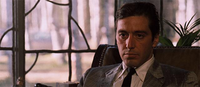 Al Pacino dans Le Parrain : 2e Partie (1974)