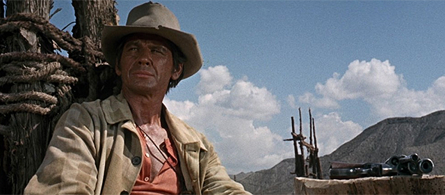 Charles Bronson dans Il était une fois dans l'Ouest (1968)