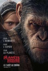 Affiche de La Planète des Singes : Suprématie (2017)