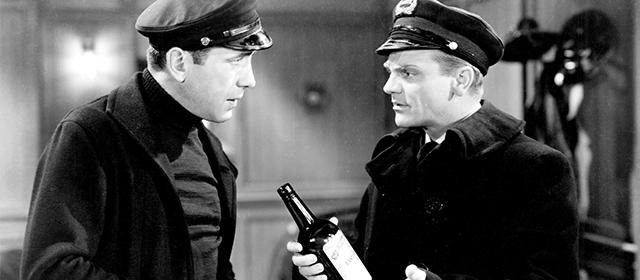 Humphrey Bogart et James Cagney dans Les Fantastiques Années 20 (1939)