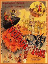 Affiche promotionnelle du Voyage dans la Lune (1902)