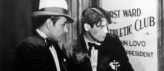 George Raft et Paul Muni dans Scarface (1932)