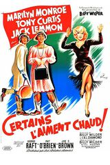 Affiche de Certains l'aiment chaud (1959)