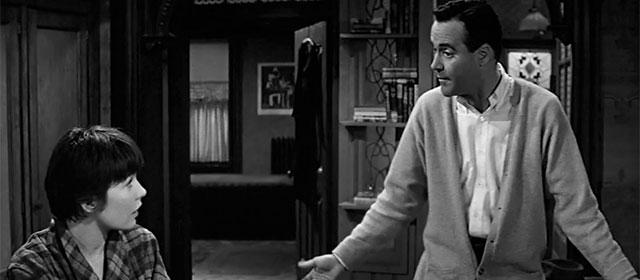 Shirley MacLaine et Jack Lemmon dans La Garçonnière (1960)