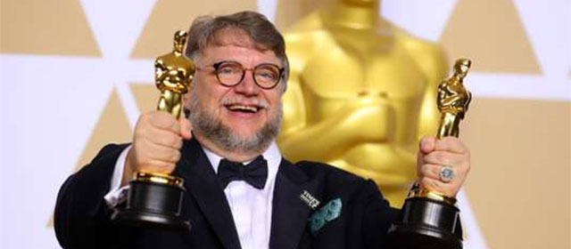 Guillermo del Toro aux Oscars 2018 (Mike Blake/Reuters)