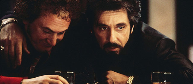 Sean Penn et Al Pacino dans L'Impasse (1993)