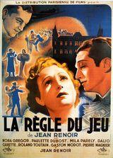 Affiche de La Règle du Jeu (1939)