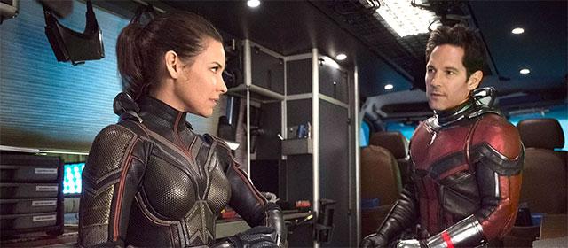 Evangeline Lilly et Paul Rudd dans Ant-Man et la Guêpe (2018)