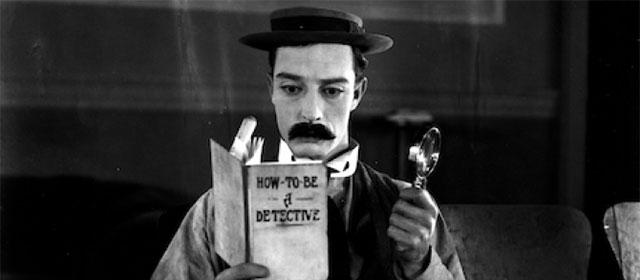 Buster Keaton dans Sherlock Jr. (1924)