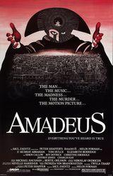 Affiche d'Amadeus (1984)
