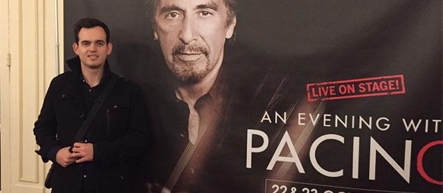A défaut de voir Al Pacino de très près, on fait avec nos petits moyens !